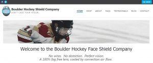 Boulder Hockey Sheild Company - Website work, digital promos and social media