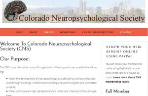 Colorado Neuropsychological Society Website