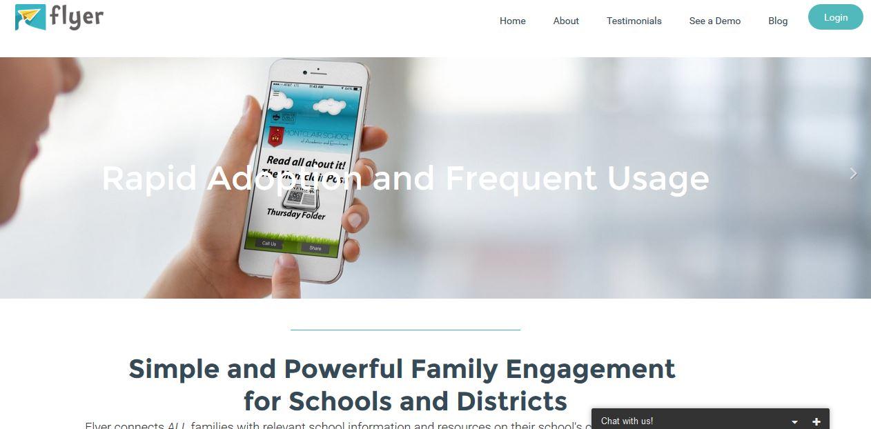 Flyer School App