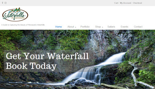 Waterfalls of Minnesota Website