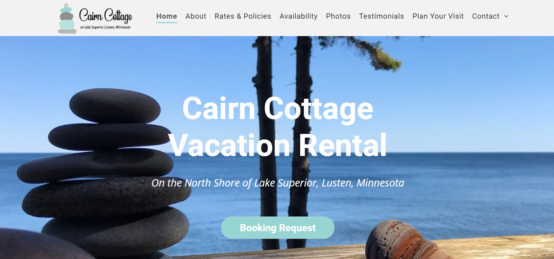 Cairn Cottage Vacation Rental - Lutsen, Minnesota