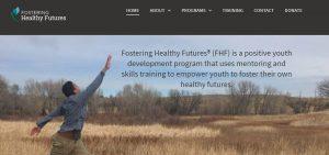 Fostering Healthy Futures - website development